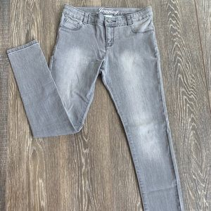 Girls gray jeggings